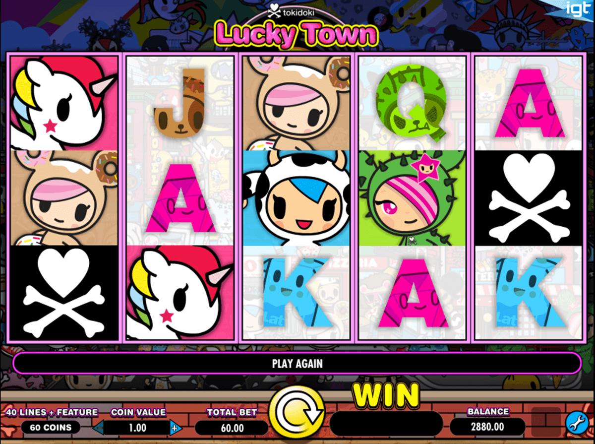 tokidoki lucky town igt spielautomaten