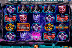 transformers battle for cybertron igt spielautomaten