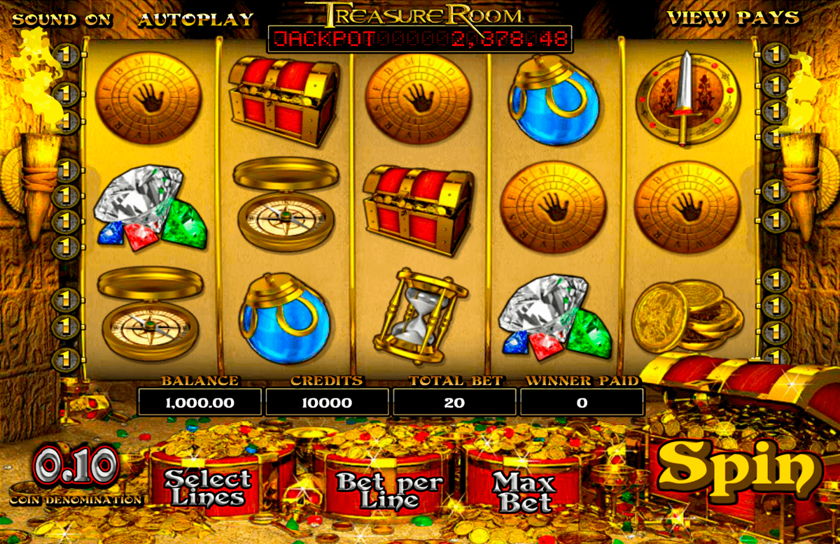 treasure room betsoft spielautomaten