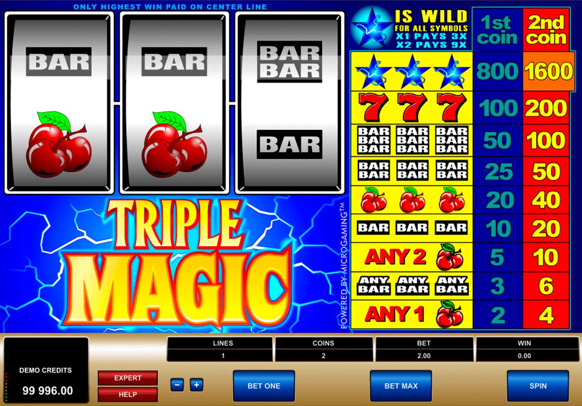 triple magic microgaming spielautomaten