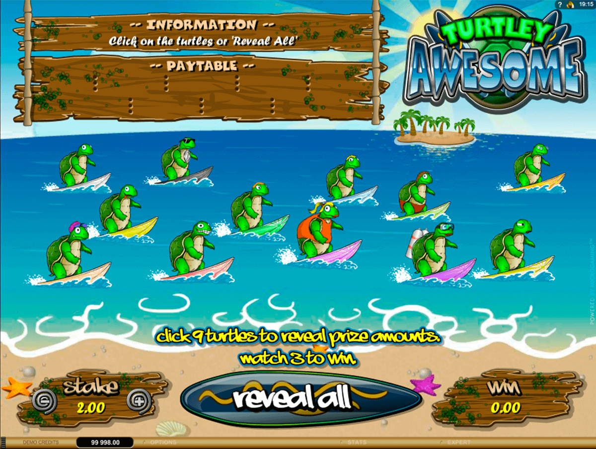 turtley awesome microgaming rubenllose