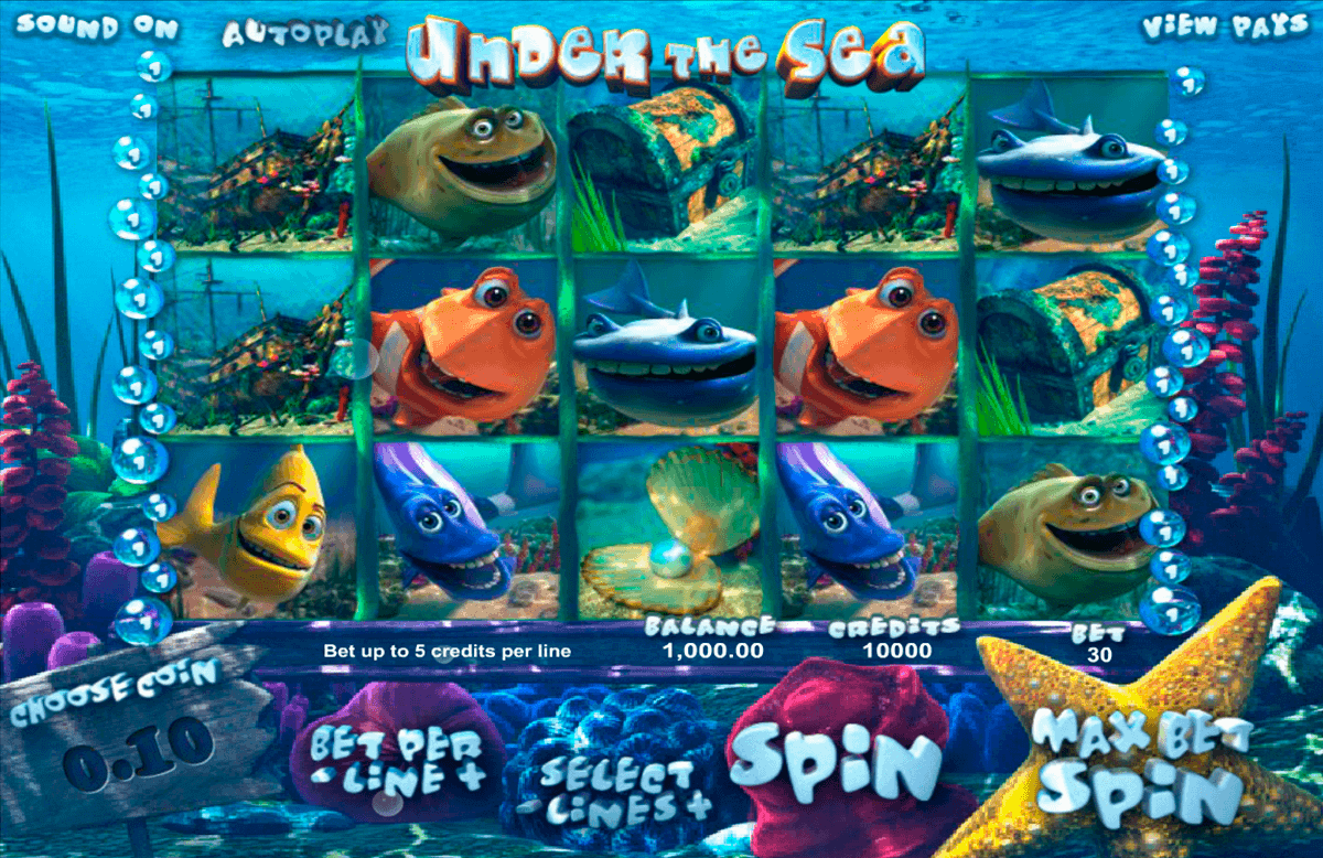 under the sea betsoft spielautomaten