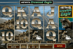 untamed crowned eagle microgaming spielautomaten