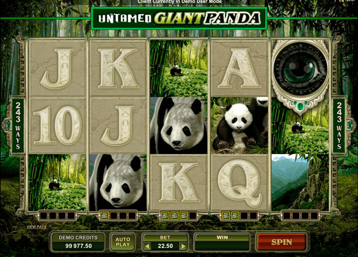 Spiele Untamed Giant Panda - Video Slots Online