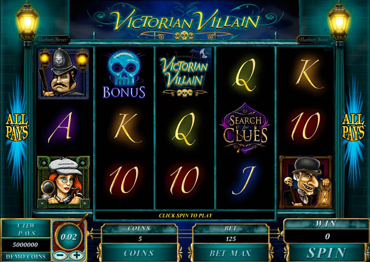 victorian villain microgaming spielautomaten