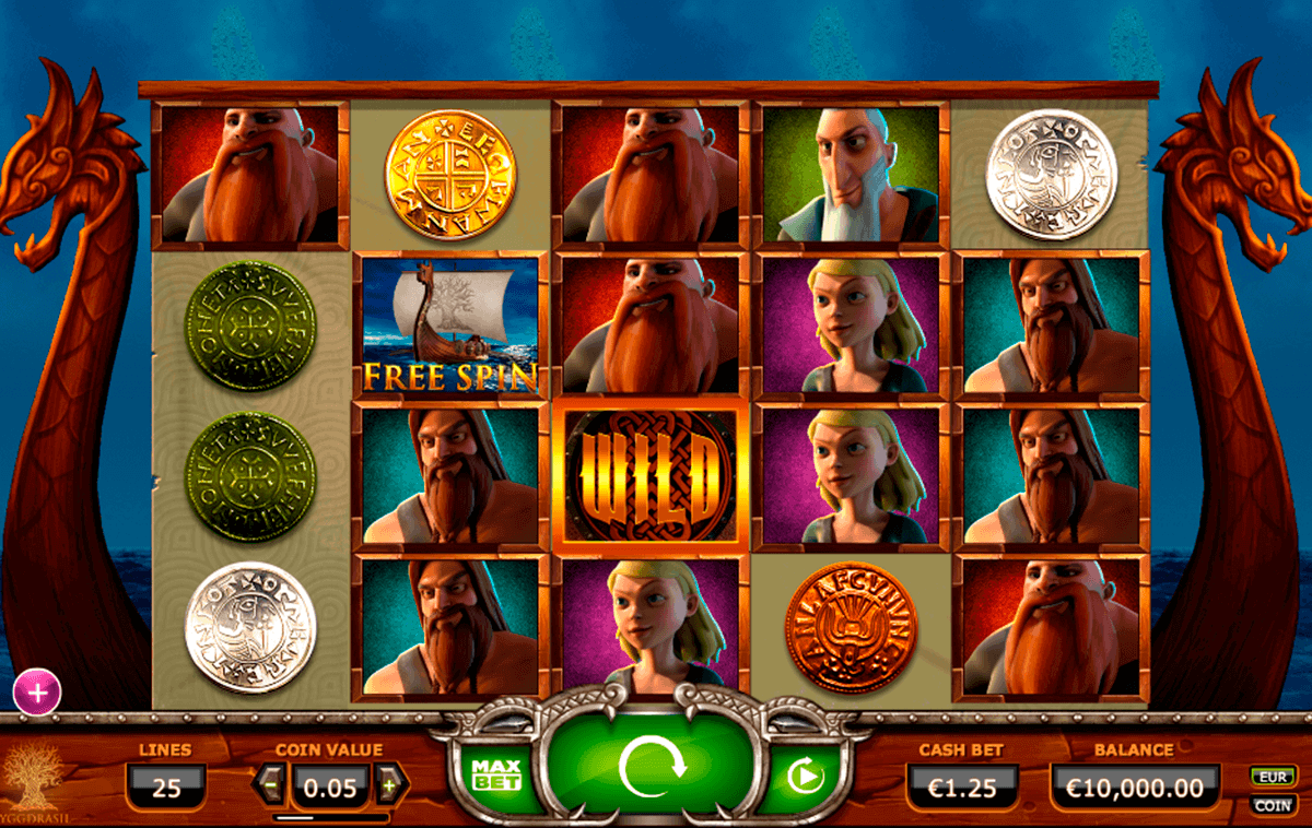 vikings go wild yggdrasil spielautomaten