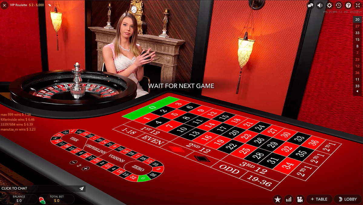 vip live roulette evolution gaming roulette