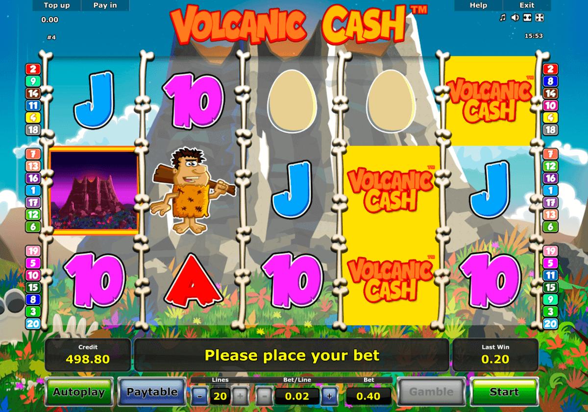 volcanic cash novomatic spielautomaten