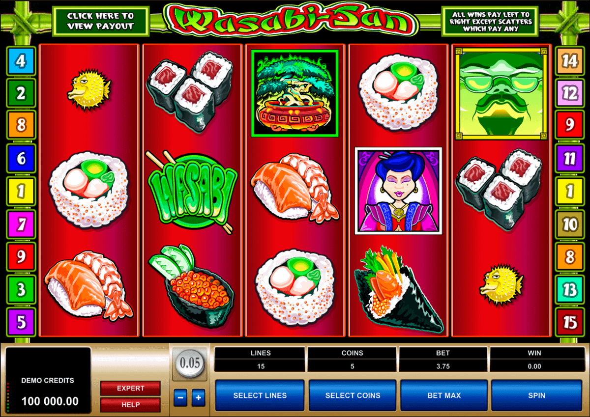 wasabisan microgaming spielautomaten