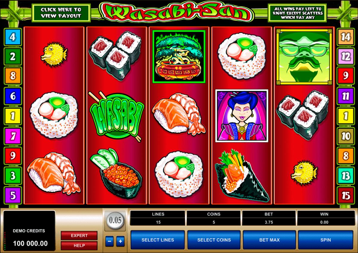 wasabisan microgaming spielautomaten