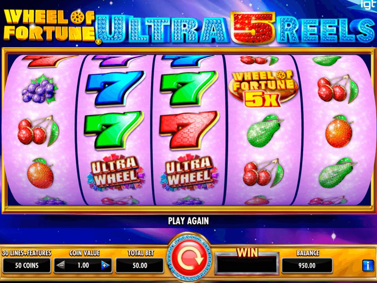 wheel of fortune ultra 5 reels igt spielautomaten