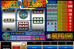 wheel of wealth microgaming spielautomaten