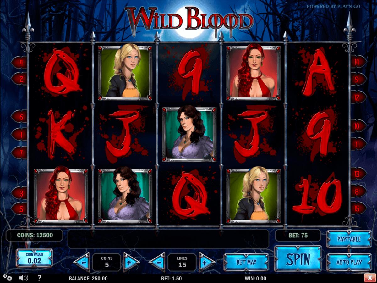 wild blood playn go spielautomaten
