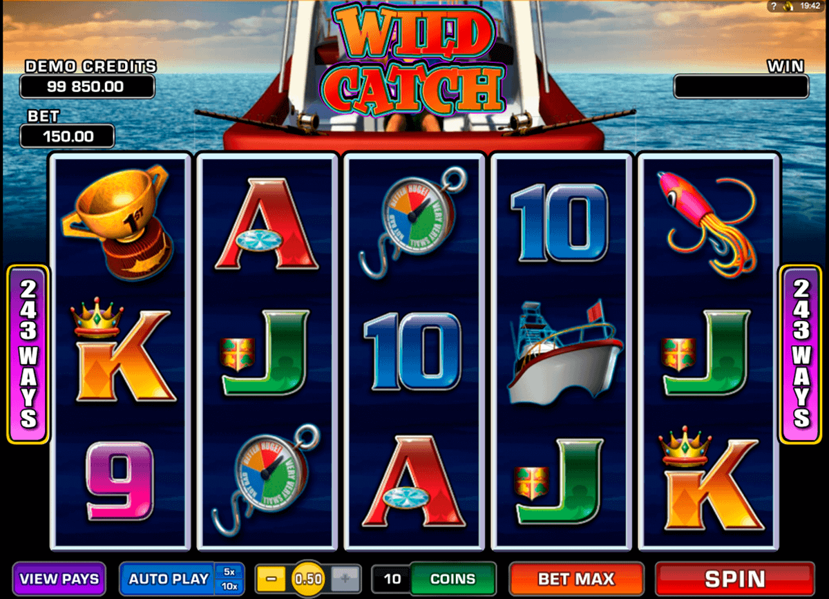 wild catch microgaming spielautomaten