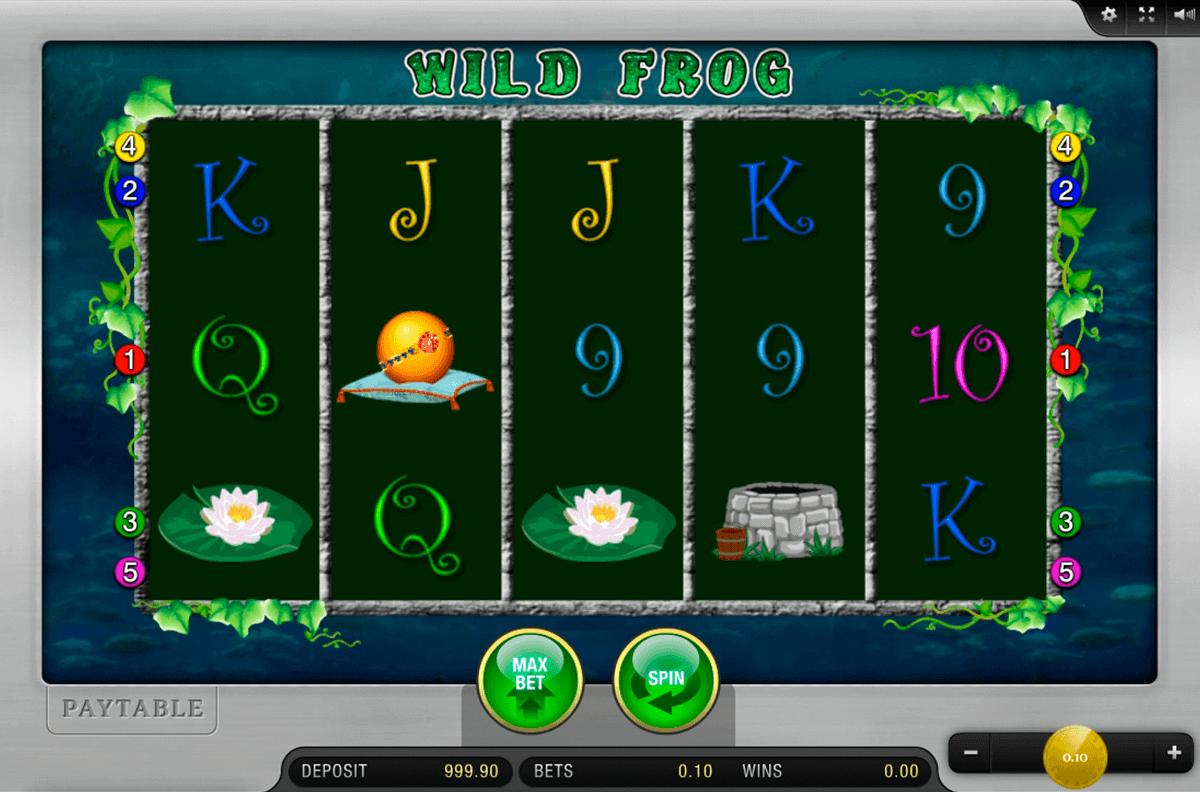 wild frog merkur spielautomaten