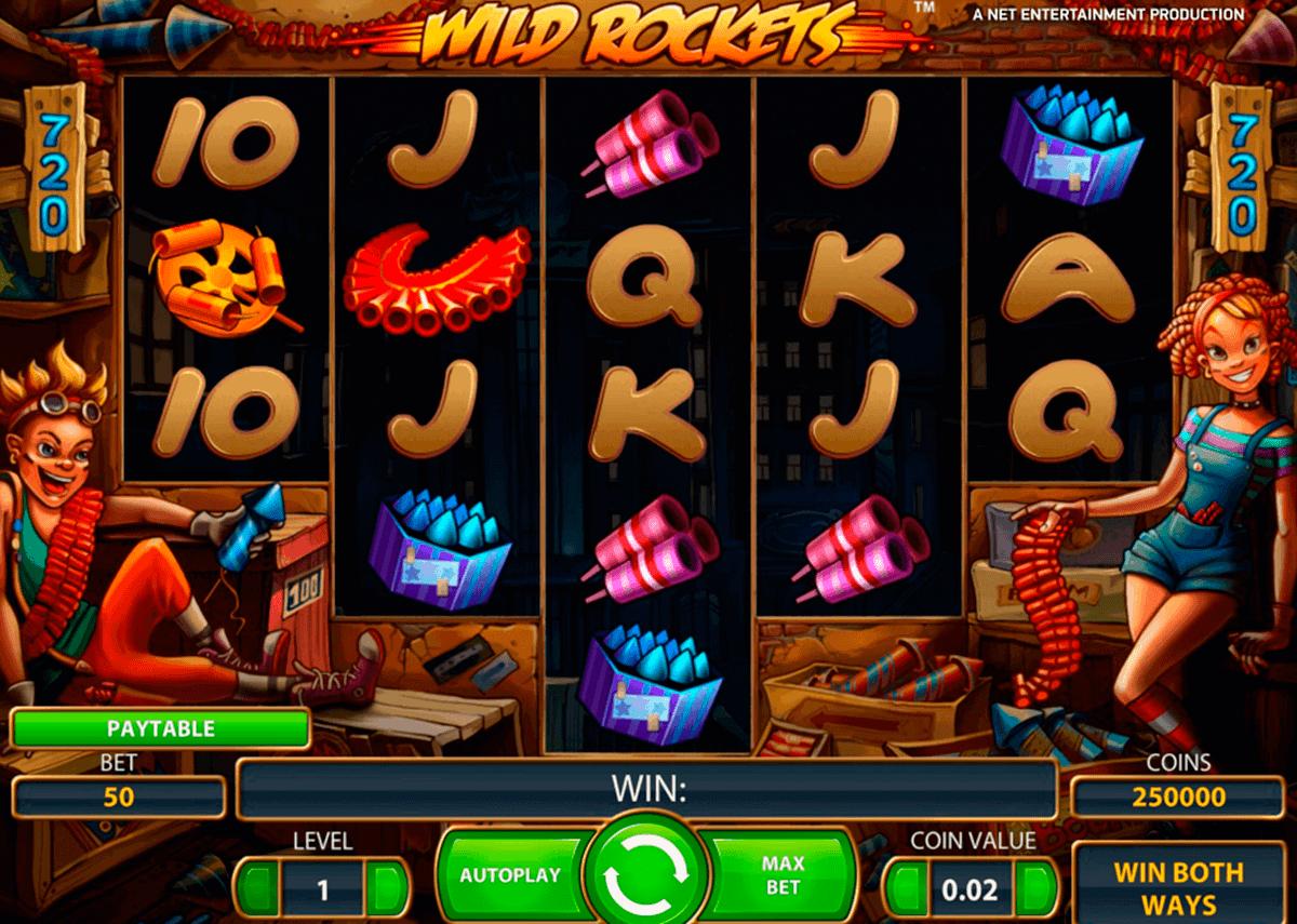 wild rockets netent spielautomaten