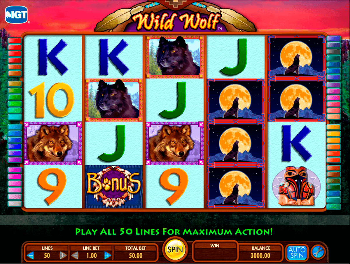 wild wolf igt spielautomaten