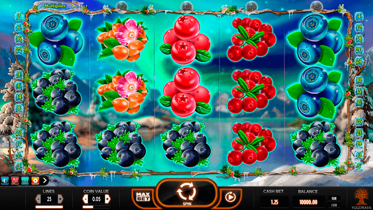 Winterberries™ Slot Machine Game to Play Free in Yggdrasil Gamings Online Casinos
