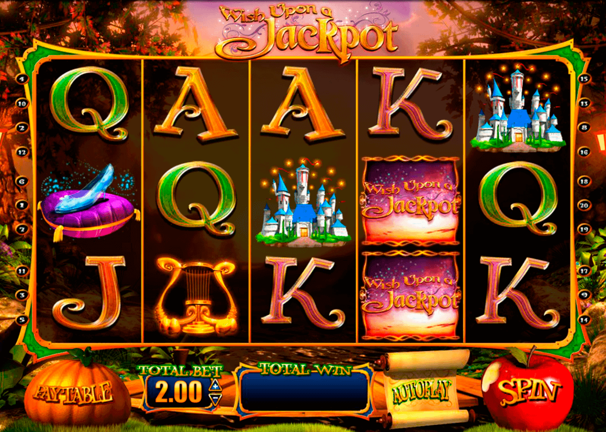 wish upon a jackpot blueprint spielautomaten