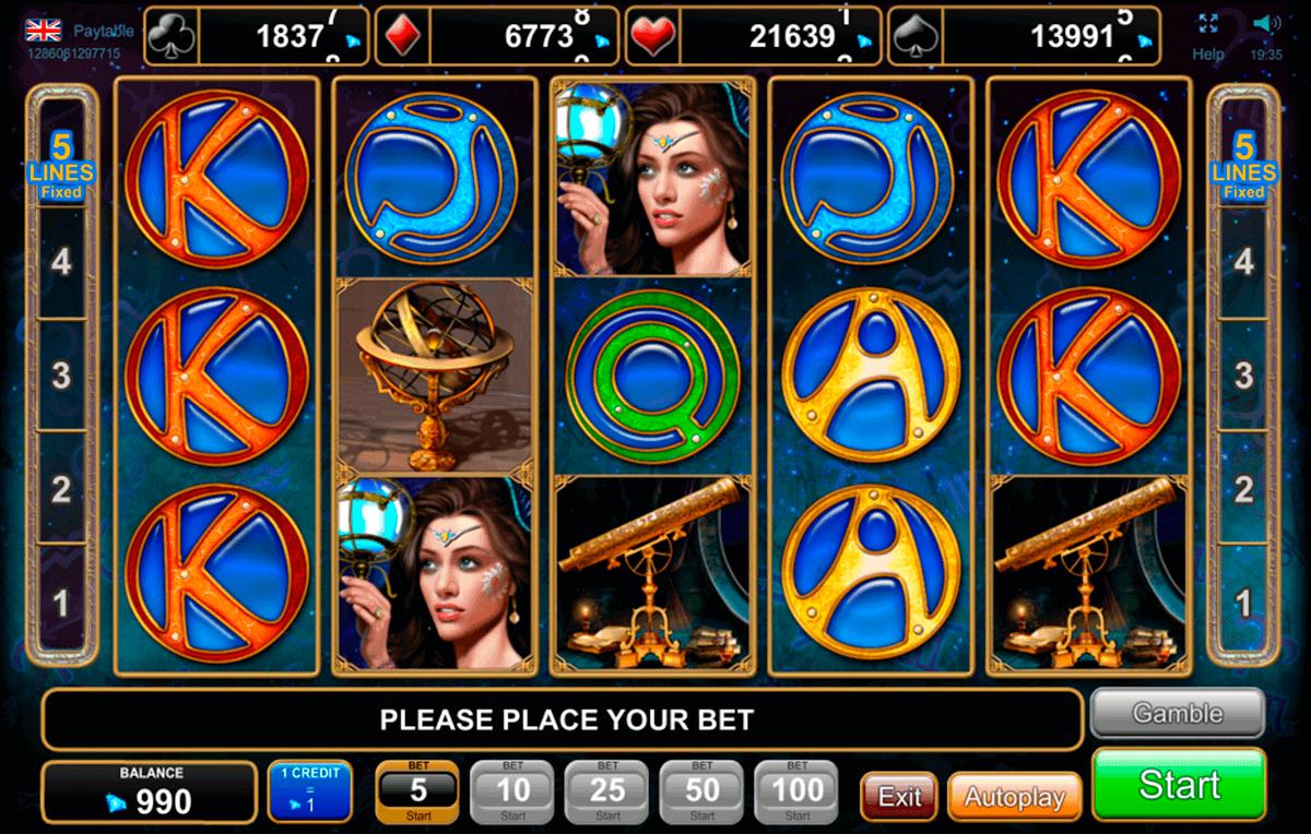 zodiac wheel egt spielautomaten