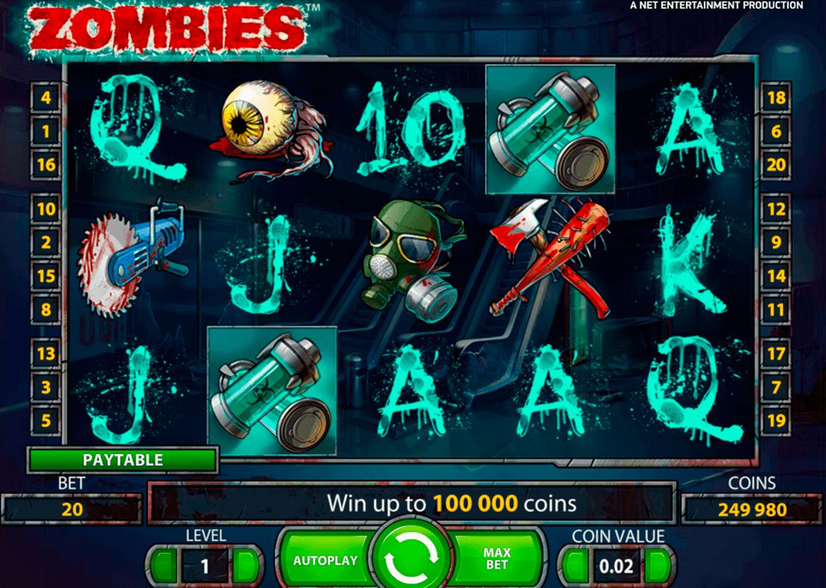 zombies netent spielautomaten