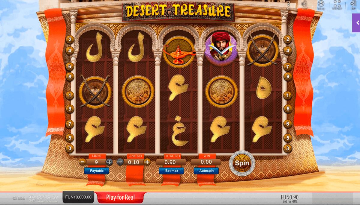 desert treasure softswiss