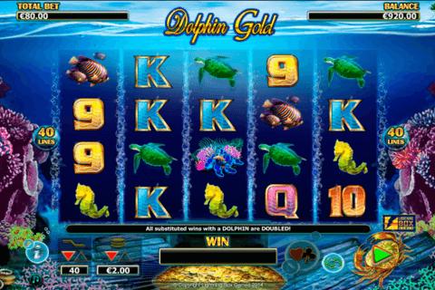 dolphin gold lightning bo