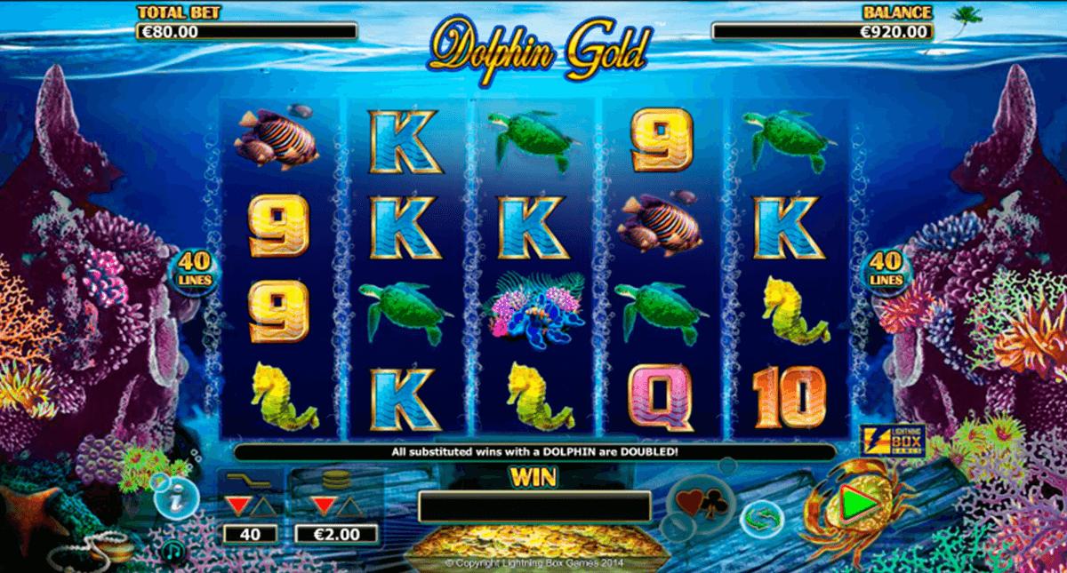 dolphin gold lightning box