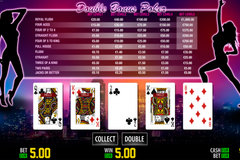 double bonus poker hd world match