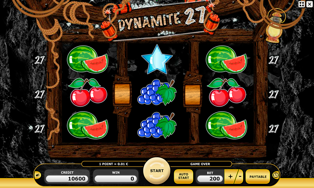 dynamite 27 kajot