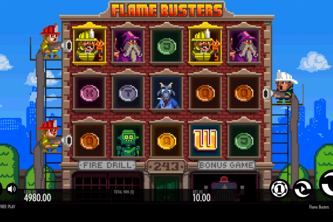 flame busters thunderkick