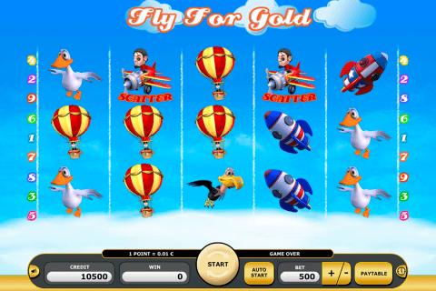 fly for gold kajot