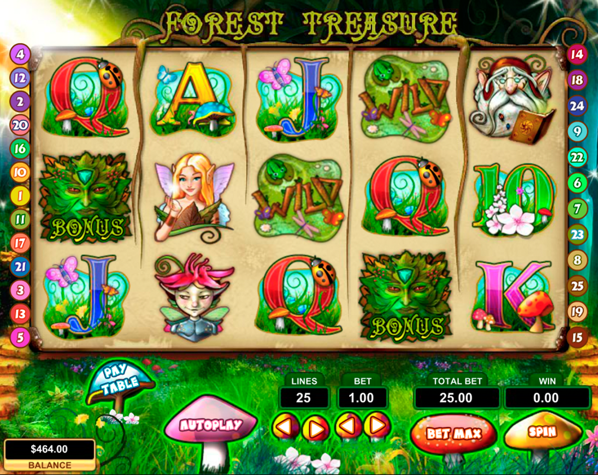forest treasure pragmatic