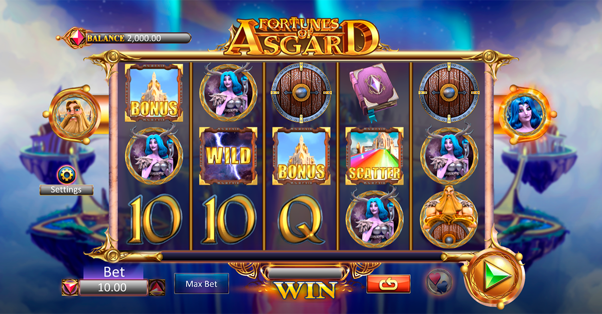 fortunes of asgard microgaming