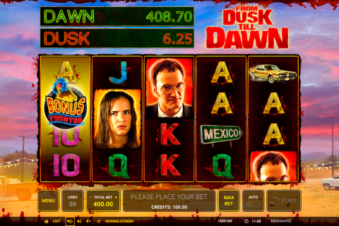 from dusk till dawn novomatic