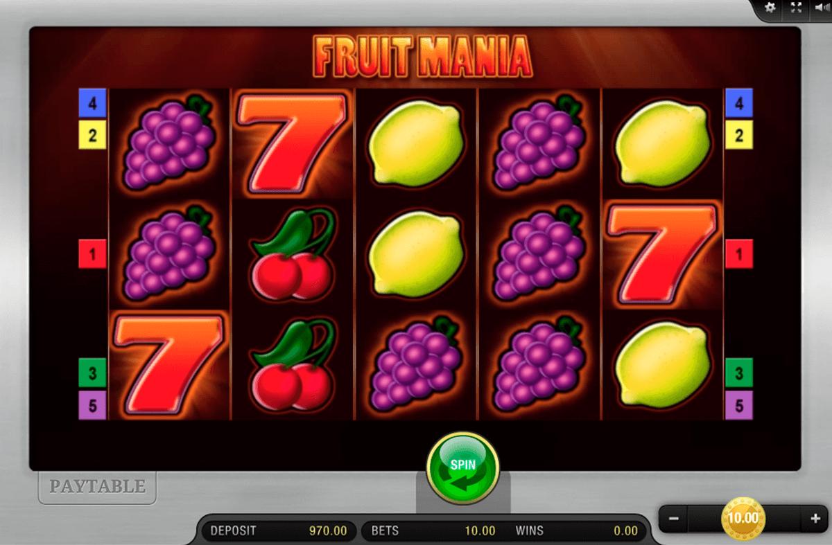fruit mania bally wulff