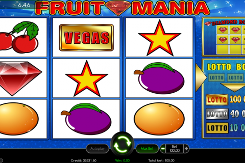 fruit mania wazdan