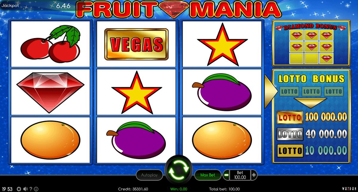 fruit mania wazdan