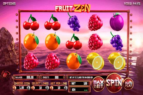 fruit zen betsoft