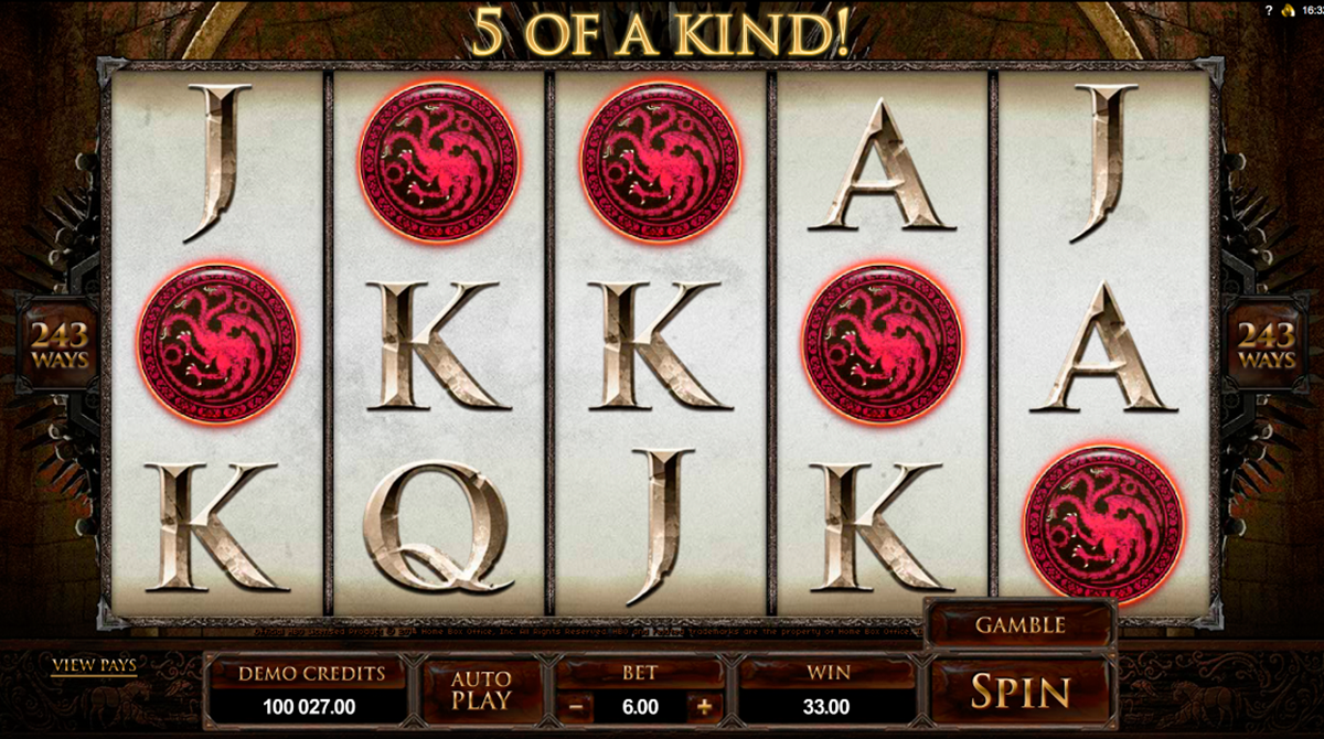 game of thrones 243 ways microgaming