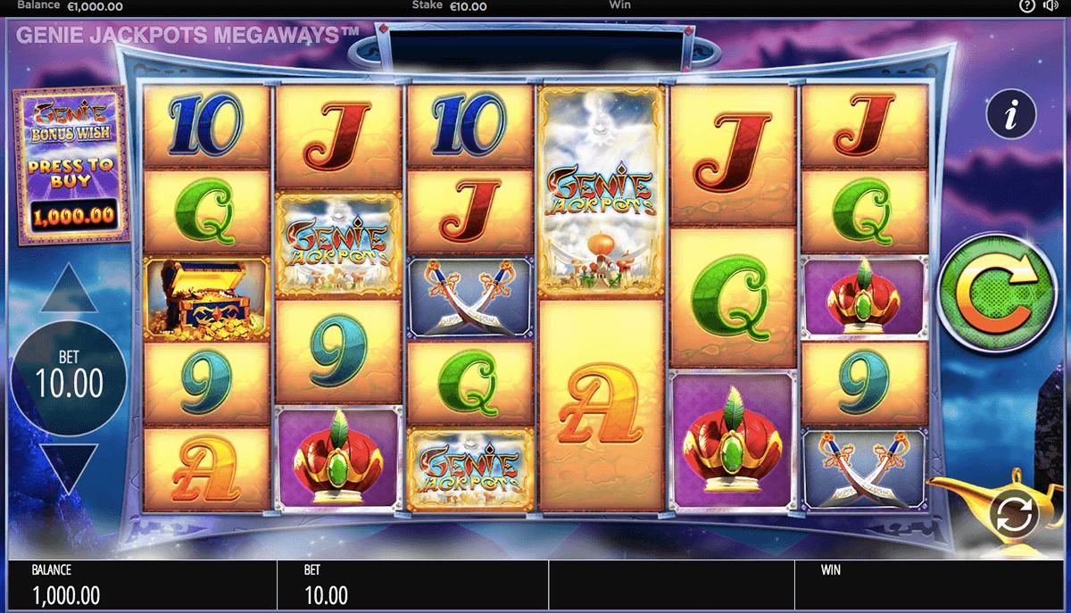 genie jackpots megaways blueprint
