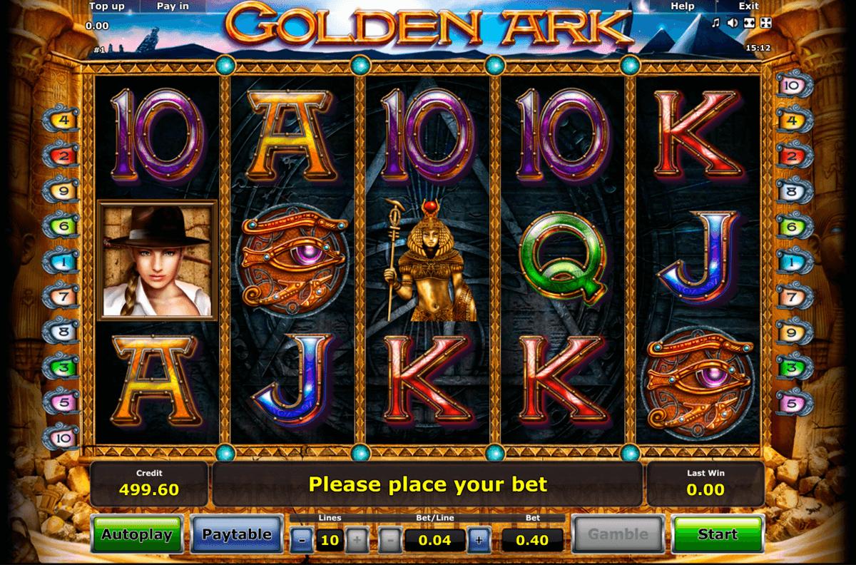 golden ark novomatic