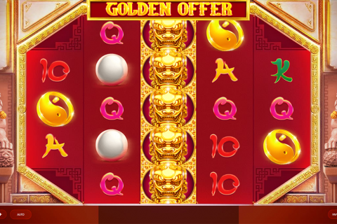 golden offer red tiger