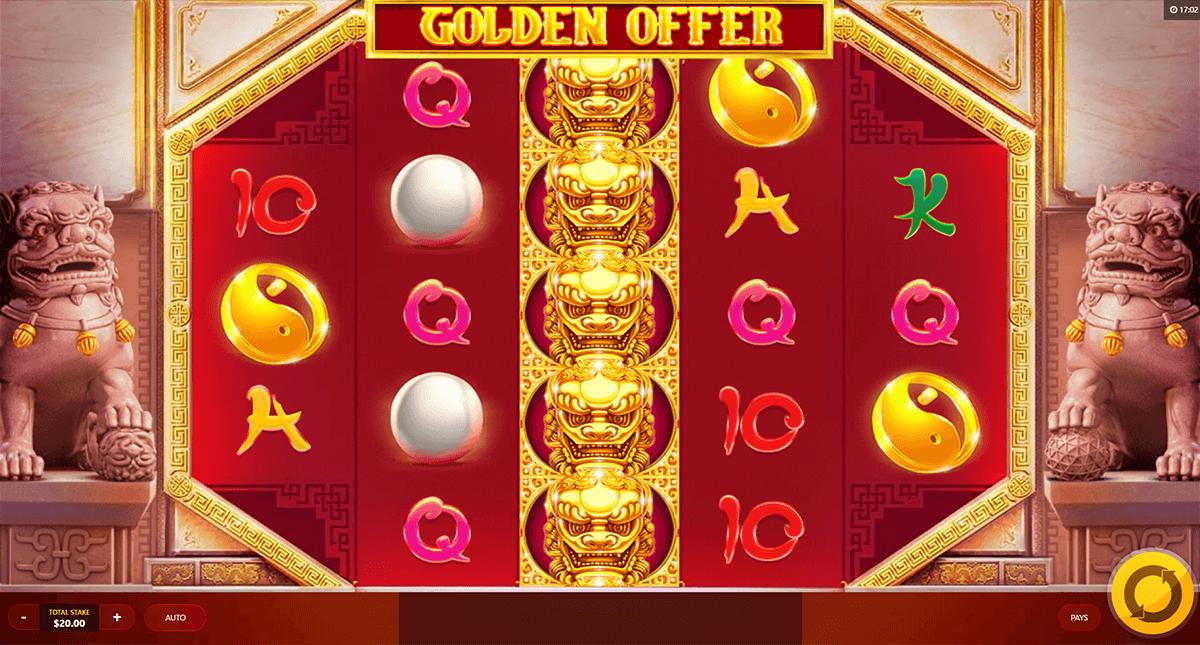 golden offer red tiger