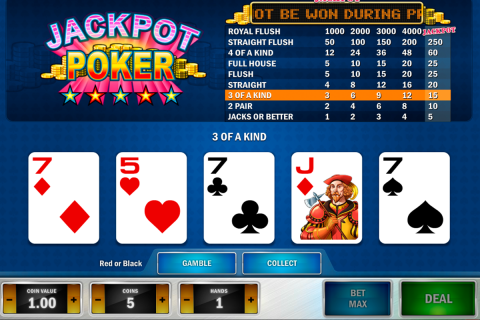 jackpot poker playn go