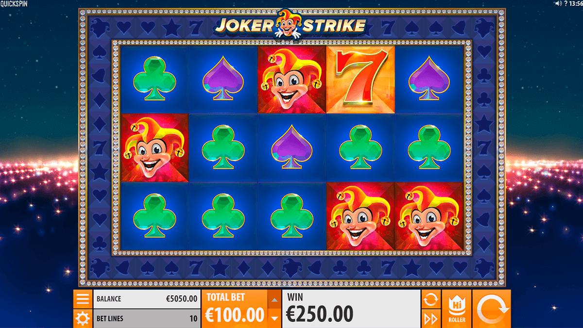 joker strike quickspinm