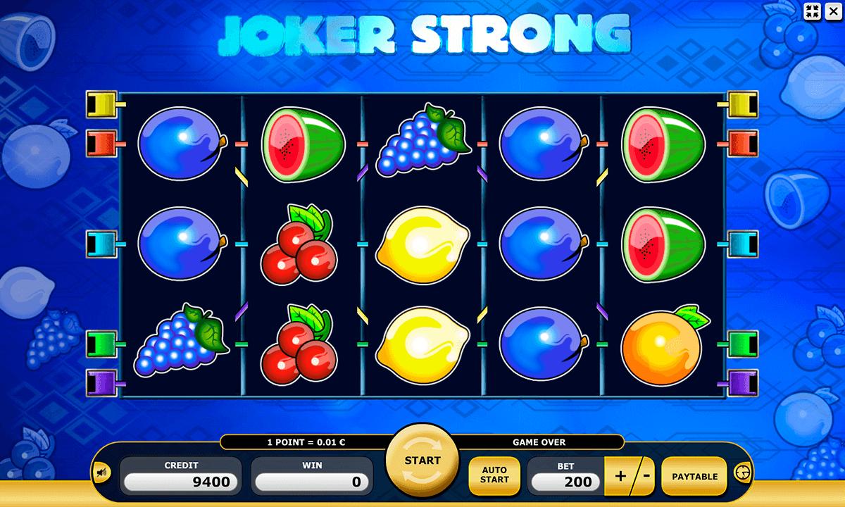 joker strong kajot