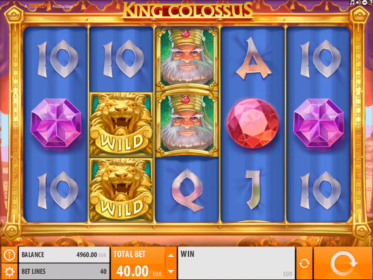 king colossus quickspinm