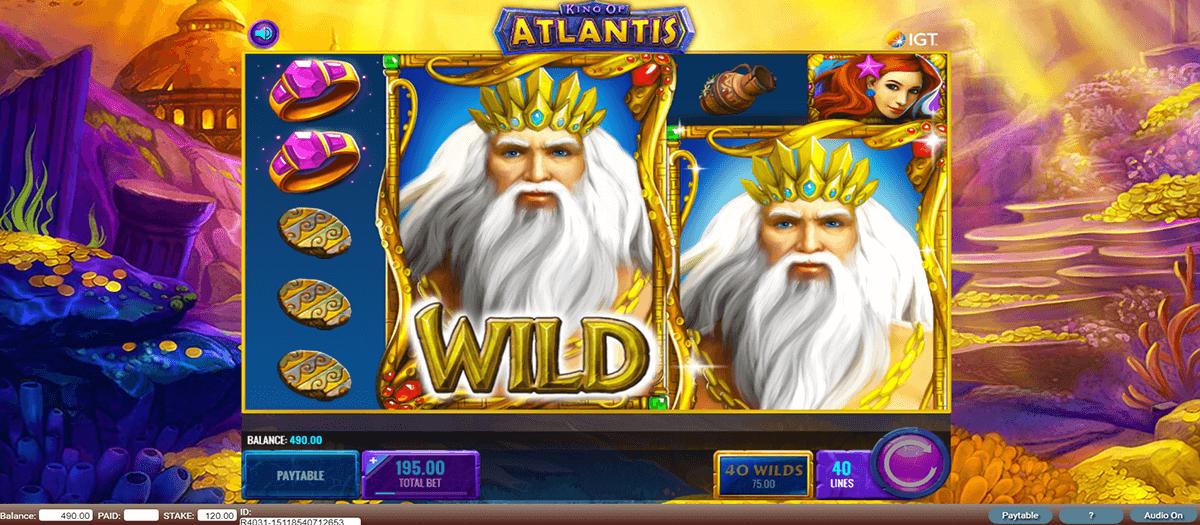 king of atlantis igt