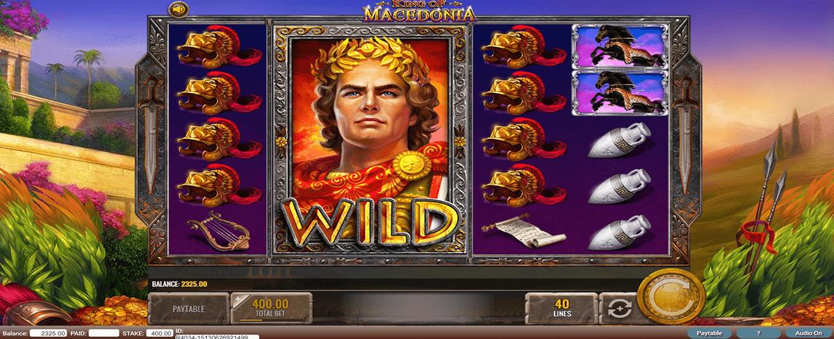 king of macedonia igt